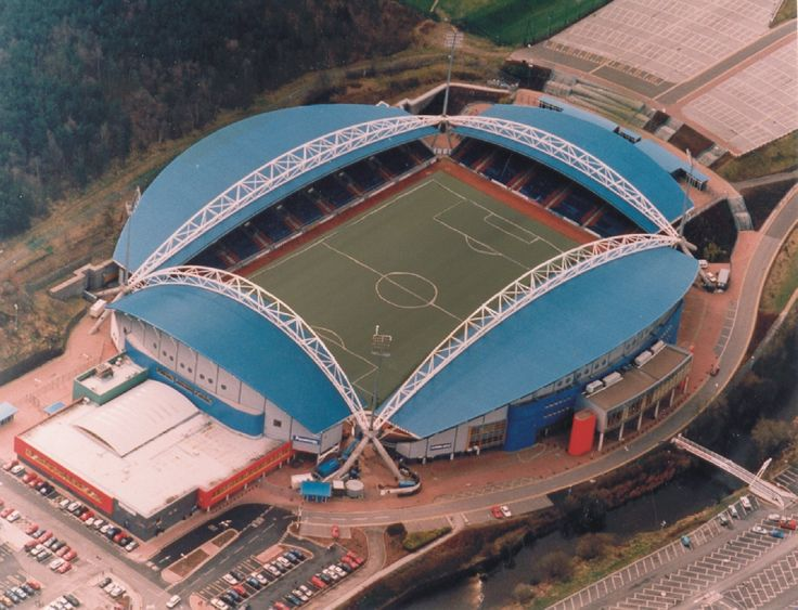Galpharm Stadium, Huddersfield.