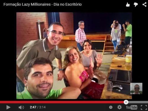 [VÍDEO] - Formação Lazy Millionaires Uma Verdadeira Equipa Torna Tudo mais Simples. Qual o Espírito dos Eventos dos Lazy Millionaires? VÍDEO AQUI: https://youtu.be/Ba3BpgJ0Ar0