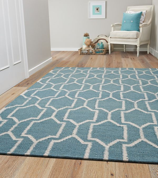 Get the best of both worlds and team your hard flooring with one of our contemporary rug designs: