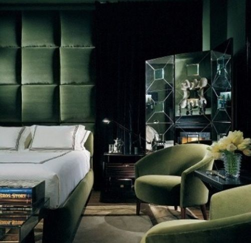 40 Best Images About Emerald Green Interiors On Pinterest