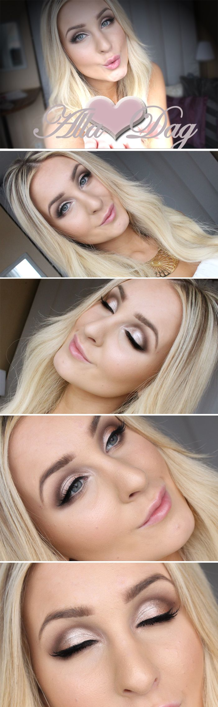 Makeup for Valentines day | Helen Torsgården – Hiilens sminkblogg