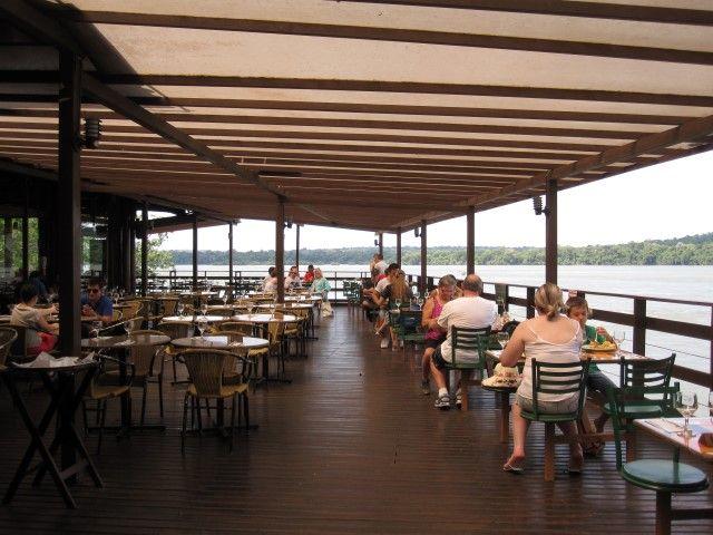 Restaurante Porto Canoas Foz do Iguaçu Na dúvida embarque