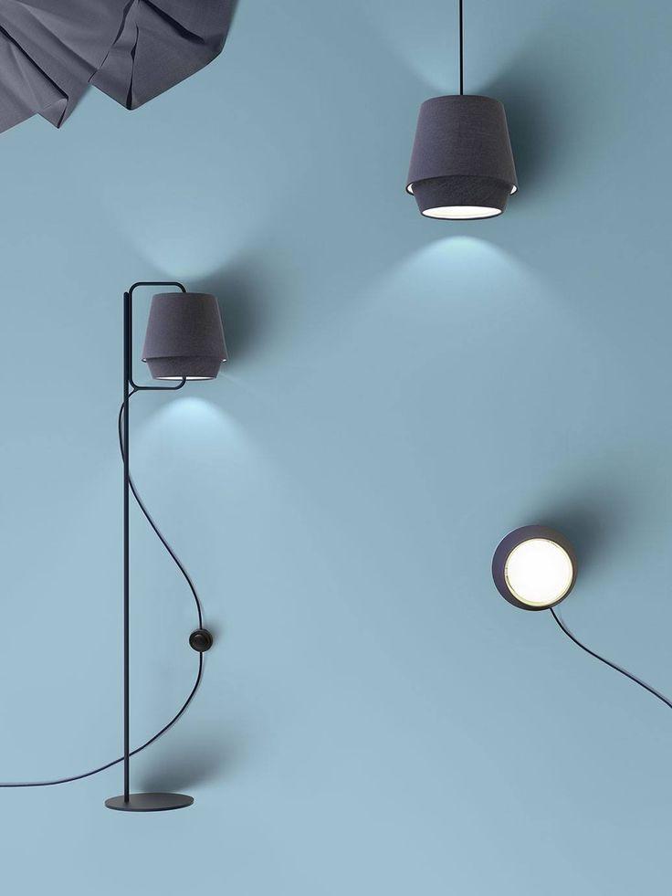 lampadaire design note