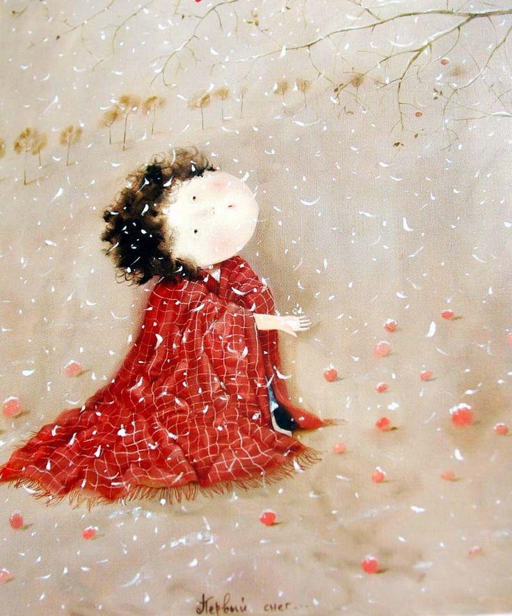A Polar Bear's Tale: Eugenia Gapchinska - Евгения Гапчинская