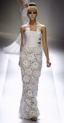 Bridal crochet…. / TRICO y CROCHET-madona-mía: Novias Crochet Irlandés-Modelos