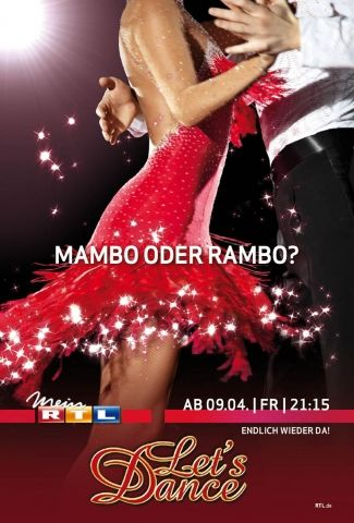 "Eines der City-Light-Poster-Motive der ""Let's Dance""-Kampagne (Bild: RTL Creation)"