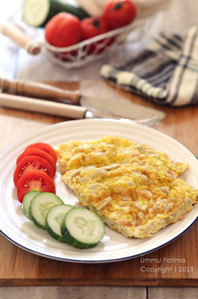 Simply Cooking and Baking...: Omelet Jamur Tiram