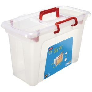 Staples Small Plastic Storage Boxes