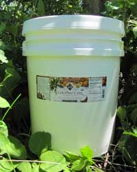 Coconut Oil, Expeller Pressed RBD, Certified Organic, 5 gallons