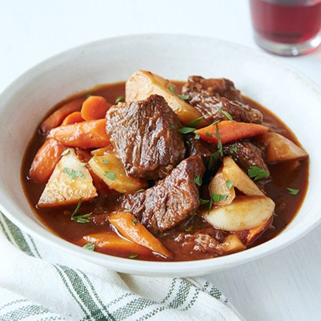 Beef Stew with Root Vegetables By Ree Drummond
