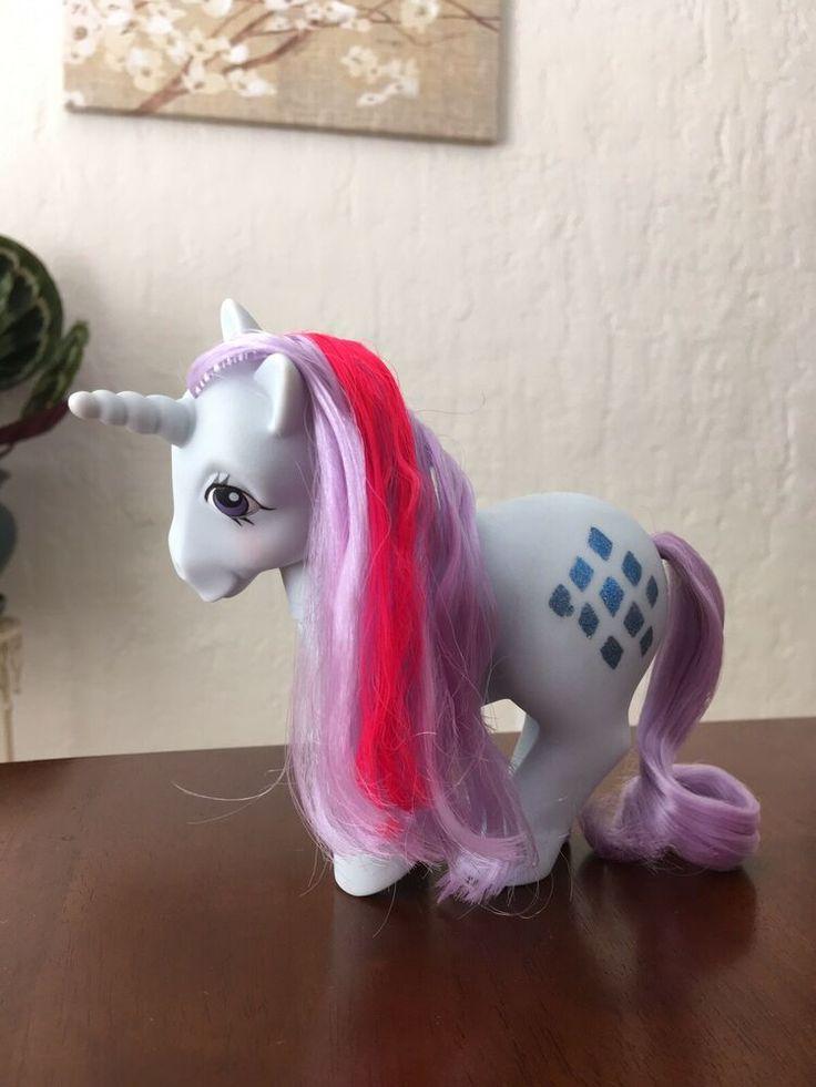 my little pony g1 sparkler unicorn mlp vintage hasbro