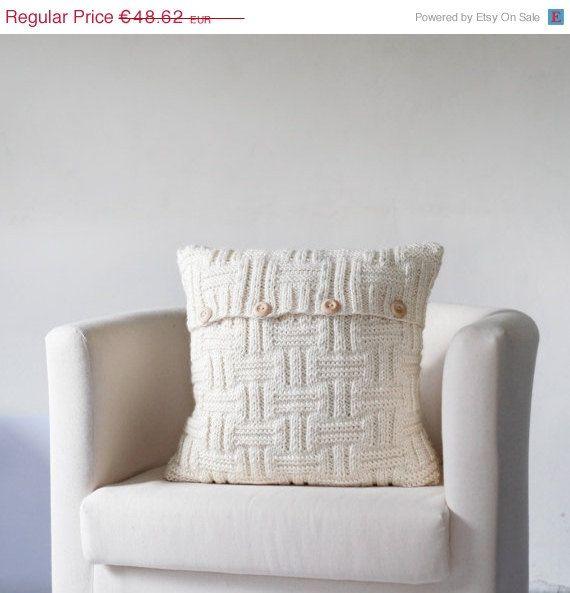 Housse de coussin tricot vente large de couleur par pillowlink, €43.76