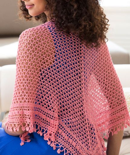 Free Crochet Pattern With Thread : Free crochet pattern Fleur de Lis Shawl AUNT LYDIAS ...