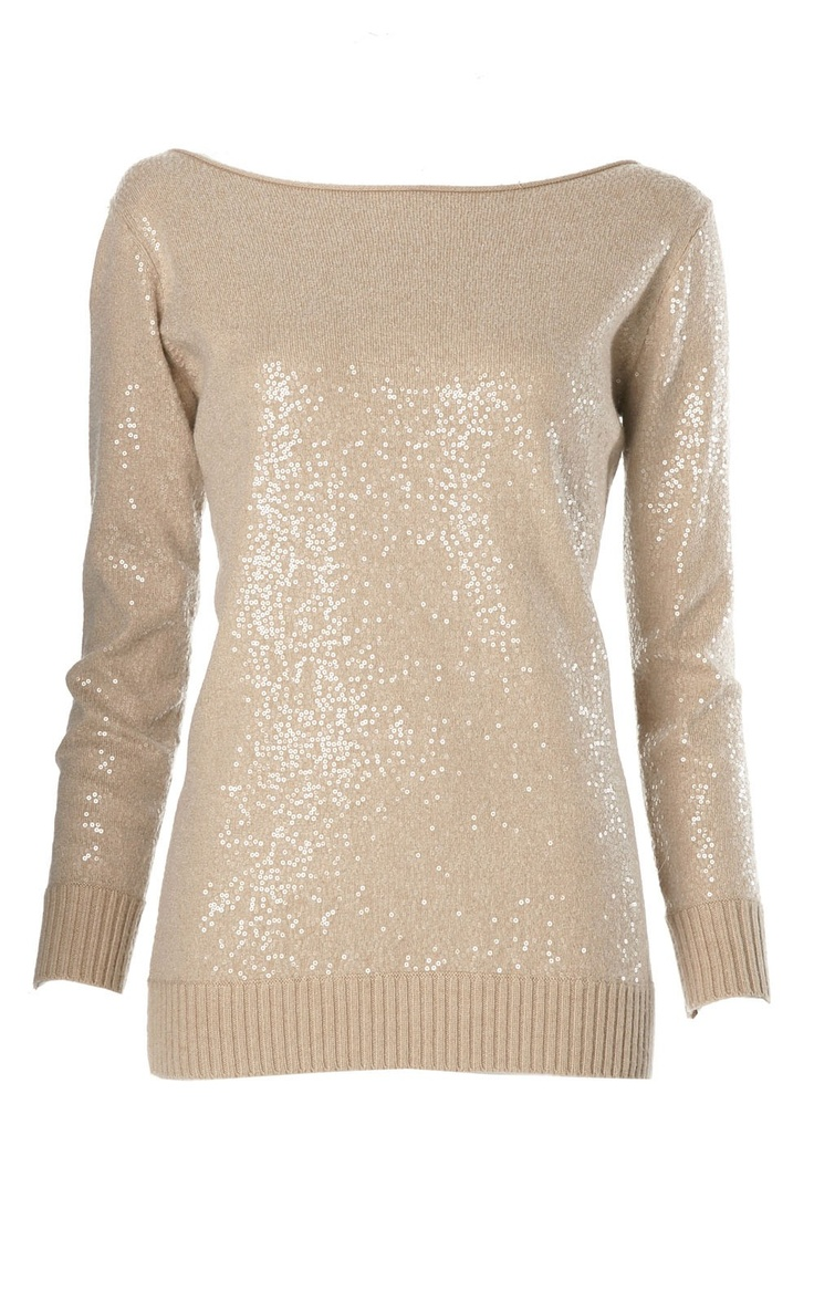 All-over Sequin Sweater