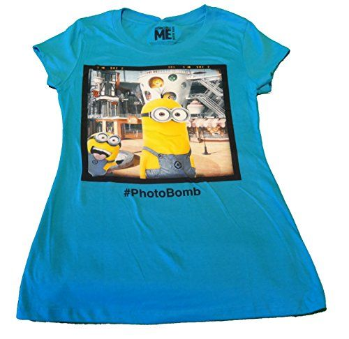Despicable Me Minions #Photobomb Juniors T-Shirt X-Large @ niftywarehouse.com #NiftyWarehouse #DespicableMe #Movie #Minions #Movies #Minion #Animated #Kids