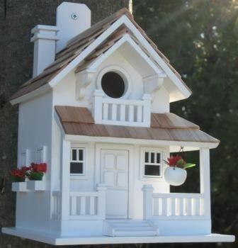 Backyard Bird Cottage White
