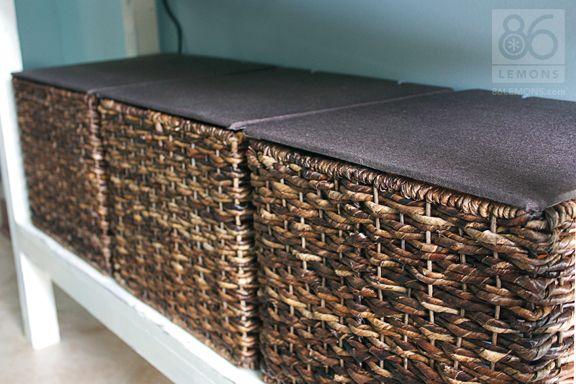 DIY Basket Lid Tutorial