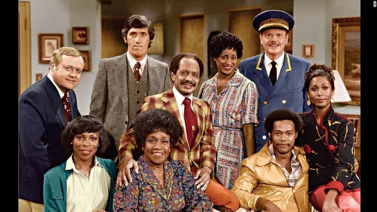 """Looking Black On Today in 1975, The Jeffersons Premiered: Anyone remember the Jeffersons? On this day in 1975, they debuted on television. A little known fact about the Jefferson's is that they were a spinoff of """"All in the Family."""" This is no surprise when you look at the flamboyance of the lead character, played by Sherman Hemsley. The Jefferso"""