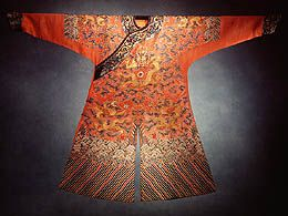 The court robes of the qing dynasty