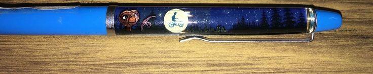 Vintage Universal Studios Florida E.T. Phone Home Movie Pen Floating Moving ET #VintageUniversalStudiosFloridaETPhoneHome