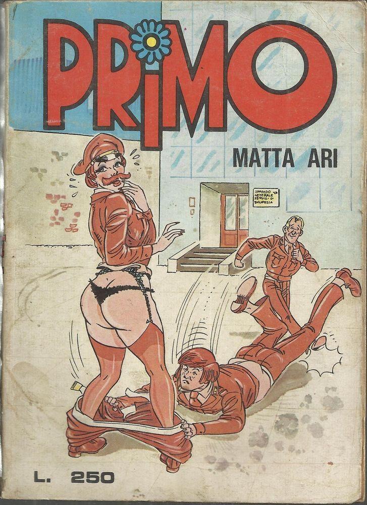 PRIMO n° 12 del 1975 - fumetto erotico