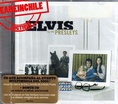 Elvis by the Presleys made in Chile cd