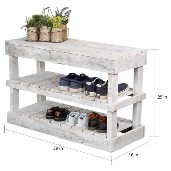 Handmade Reclaimed Wood Shoe Stand Rack Organizer With Etsy Diy Shoe Rack Wood Shoe Rack Wooden Shoe Racks
