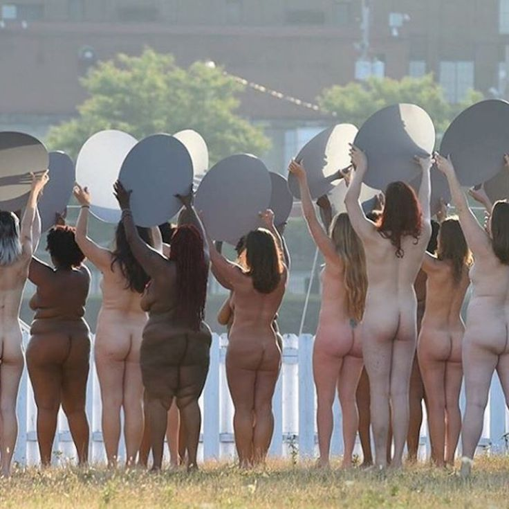 Spencer Tunick's 'Everything She Says Means Everything'
