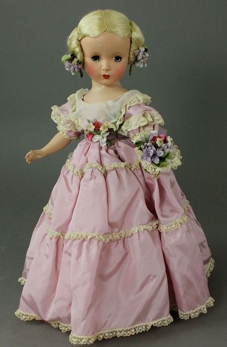 ~ Lovely Hard Plastic Doll ~by Madame Alexander                                                                                                                                                      More