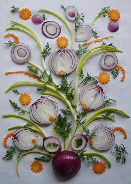 Vegetable Art by Krishna Catering