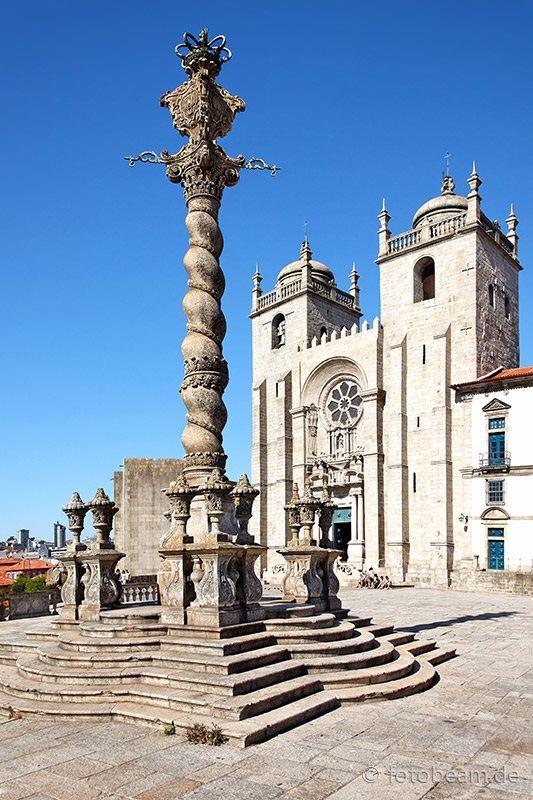 Cathedral Pelourinho do Porto, Porto, Portugal