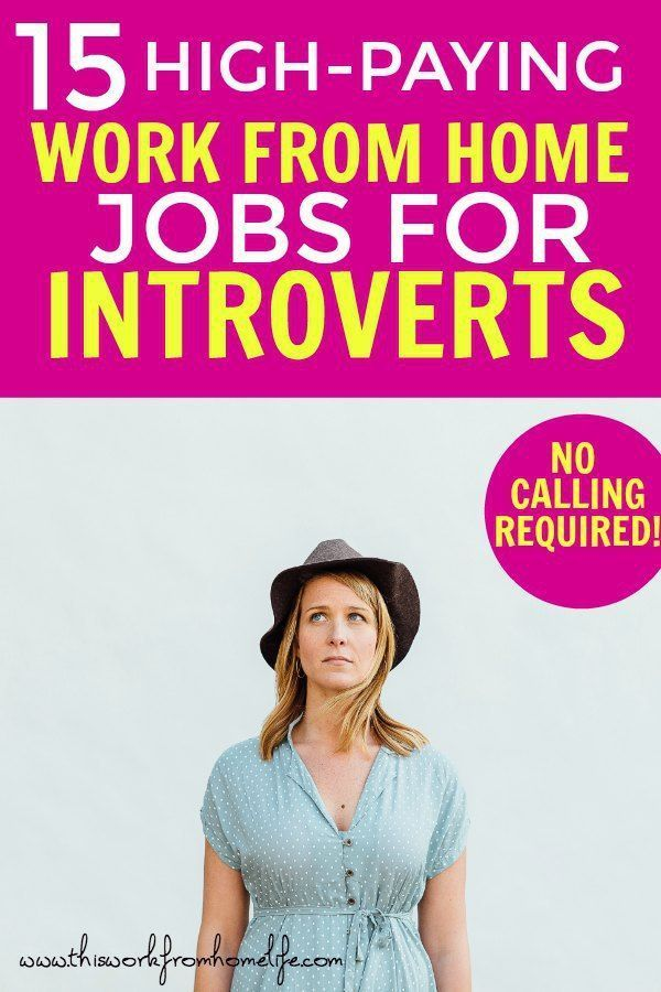 Work from home jobs for introverts. Here are 15 side hustles for making money on… – Jessica Dare