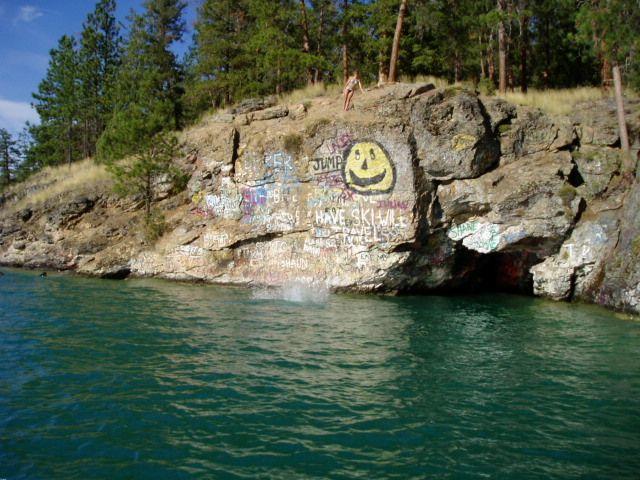 Kalamalka Lake Cliff Jump | •••Wander••• | Pinterest | Lakes
