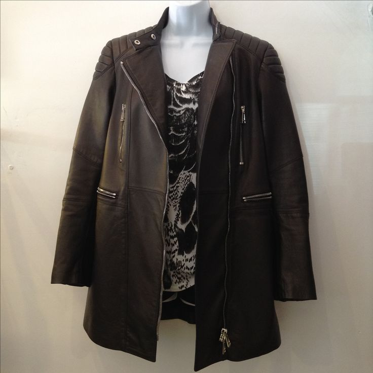 Belstaff black leather riders long jacket with silver details. Size 40. Made in Italy. New condition. Please call (949) 715-0004 for all inquiries. #havocfashions #havoccoture #couture #designer #consignment #luxuryconsignment #lagunabeach #fashion #style #luxury #stylish #luxuryshopping #shoes #heels #outfit #purse #handbag #jewelry #shopping #glam #readytowear #madeinitaly #belstaff #OC #orangecounty #LA #losangeles