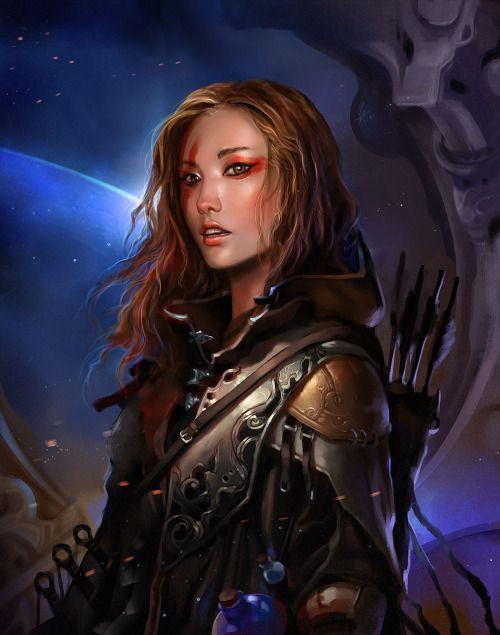 scifi-fantasy-horror: by LE LONG