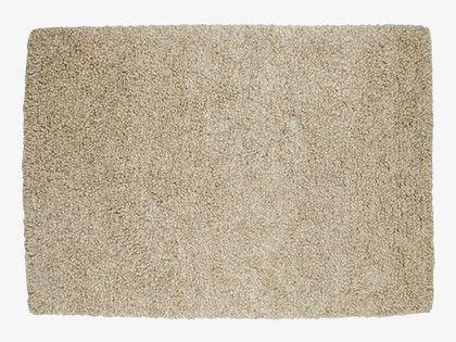 AFRIQUE NATURAL Wool blend Extra large wool rug 200 x 300cm - HabitatUK