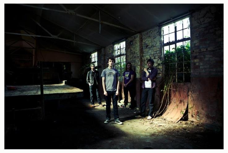 Band Photoshoot.  The Wood Burning Savages.