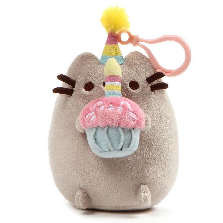 Pusheen Backpack Clip Birthday