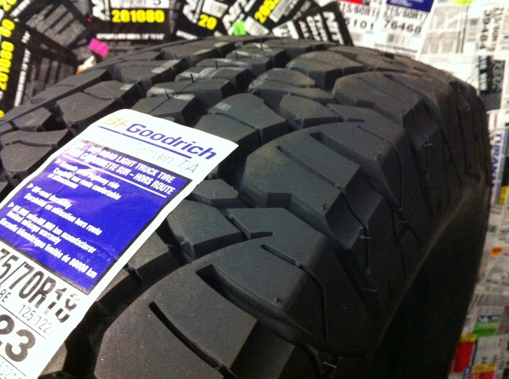 BFGoodrich Rugged Terrain T/A. Traction And Durability. Good Looks!