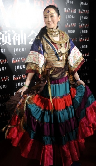 Sa Ding DIng. ethnic boho bohemian style fashion