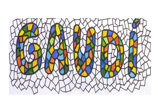 Libretas de coloresProyecto Gaudi
