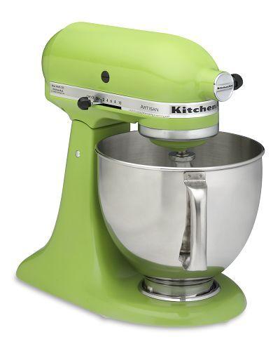 Green Kitchenaid Food Processor: Sugar Shout Out: Win A KitchenAid Mixer!