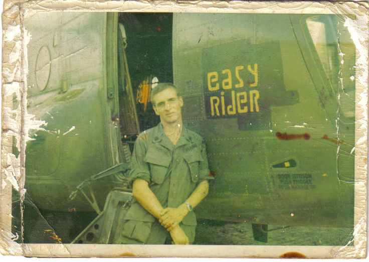 """Easy Rider"": Boeing CH-47 Chinook of the 228th ASHB at Phuoc Vinh, 1970. ~ Vietnam War"