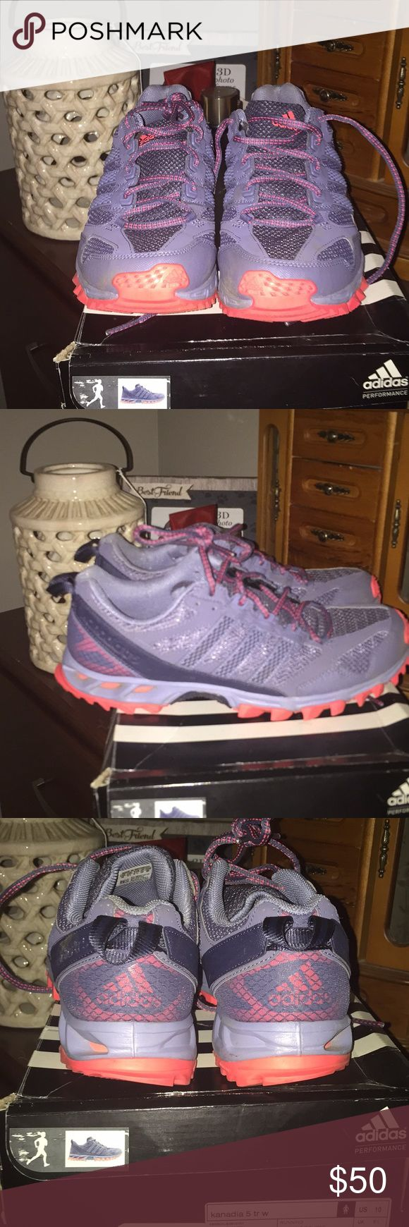 Adidas Running Shoes I bought these and decided I didn't like them as much as my Adidas Bounce they are in new condition only worn around the house less than 5 times they do come with box TV $75 adidas Shoes Athletic Shoes