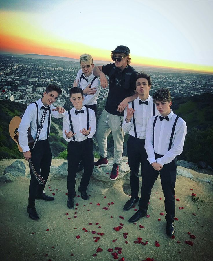 Logan with Why Don't We Boys