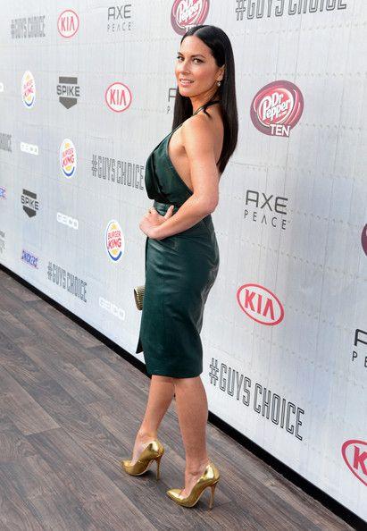 "Olivia Munn Photos: Spike TV's ""Guys Choice 2014"" - Red Carpet"