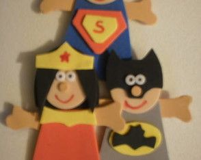Dedoches os justiceiros/super-herois