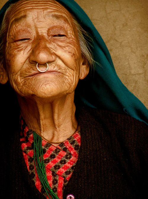 : Faces, Darap Sikkim, Beauty, Beautiful People, Portraits, Photo, Beautiful Face, Culture, Old Ladies
