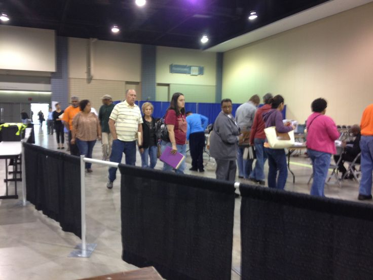 Homeowners continue to file in to the Greater #Richmond Convention Center to save their homes on the final day of our #AmericanDreamTour event. Doors are open till 6pm! #RVA