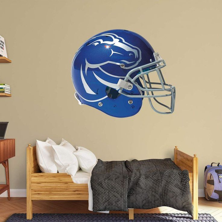 Fathead NCAA Boise State Broncos Helmet Wall Decal Design
